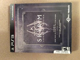 Skyrim sony ps3 box