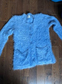 blue and white fur coat Newmarket, L3Y 1B2
