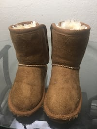 Toddler Fur Lined Boots Cypress, 90630