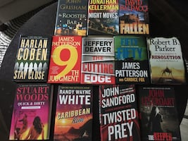 Bestselling authors Hardcover books