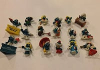 Vintage collectible smurfs  Wilmington, 19801