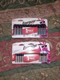 $7 pack ENERGIZER  AA & AAA BATTERIES