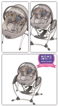 GRACO Elite 2in1 Baby Glider Swing and Bouncer Clearwater, 33760