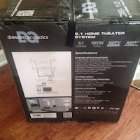 NEW Dresden Acoustic 5.1 Home theater system Chantilly, 20152