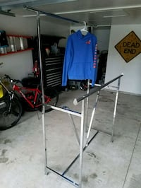 Clothing rack (adjustable)