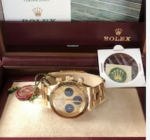 Rolex Daytona 6265 18k Yellow Gold