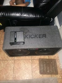 sub woofer  with amp Camden, 08104