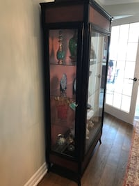 Solid wood display cabinet Vaughan, L6A