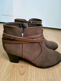 Brown booties Mississauga, L5M 5T2