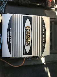Power Amplifier Car Audio System Max. Power 150W+150W