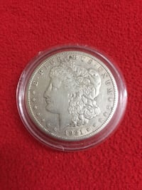 1921 S Morgan Silver Dollar Washington