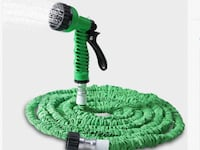 Garden hose with nozzle,up to 50 feet Toronto, M3B 1J7