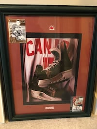Ron MacLean, Team Canada (Serge Savard and Paul Henderson)  Framed Pictures Edmonton, T5Z