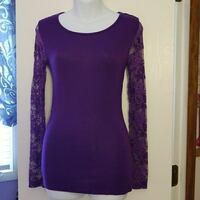 Purple Lace Top  Liverpool, 13090