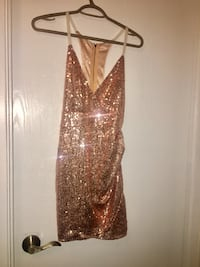 Brand new tags size small-'gorgeous champagne colour sequin dress Edmonton, T5Y 0V8