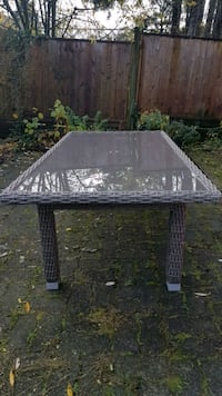 Patio Glass Table New Westminster, V3L 3P6