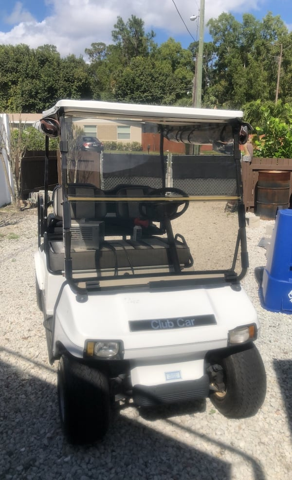 Used 1991 Club Car Golf Cart For Sale In West Palm Beach