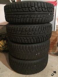 WINTER TIRES WITH RIMS Vaughan, L6A 2N5