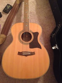 Guitar (Tanglewood), strap, case and stand for sale Winnipeg, R3R 1E6