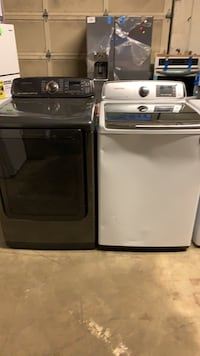 Quick Sale!!! New (s &d) Samsung 5.0 washer and 7.