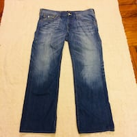 "Men's True Religion World Tour ""Ricky"" Jeans Size 42 Athens, 30601"