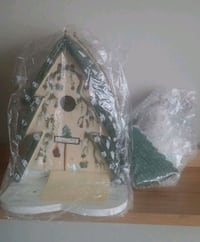 Kathy Hatch Birdhouse/Winter Scene  Gaithersburg