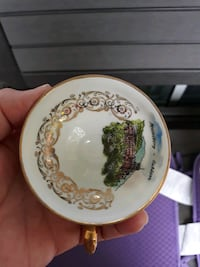 vintage cup with saucer Frankfurt _M Baltimore, 21239
