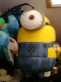 Plush minion 3 ft tall