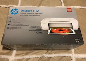 HP DeskJet 1112 (White) - Brand New