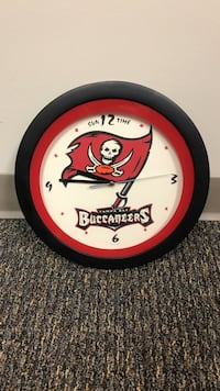 Tampa bay buccaneers Football wall clock Huntsville, 35805