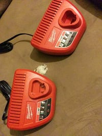 Milwaukee m12 battery chargers