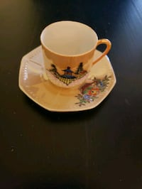 small lusterware tea cup and saucer  made in Japan Woodstock, N4T 1V8