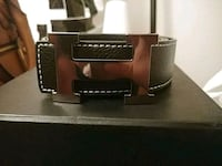 brown and black leather belt Langley, V3A 4C3