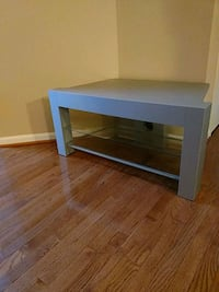 rectangular black wooden coffee table Gainesville, 20155