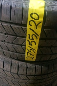 """20"""" all seasons tire with installation"""
