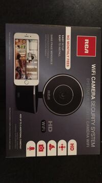 RCA wifi security camera system  Toronto, M8Z 1V1