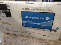 "TV 40"" SONY ULTIMATE GAMING NEW Schaumburg"
