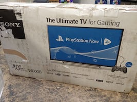 "TV 40"" SONY ULTIMATE GAMING NEW"