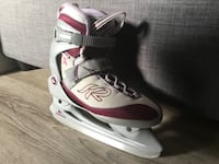 pair of white-and-red inline skates Mascouche, J7K 0N9