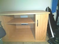 Two cubby television stand.  Louisville, 40214