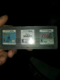 two Nintendo DS game cartridges 468 km