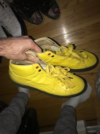 Rare puma Ferrari shoes, made with ostrich leather size 11