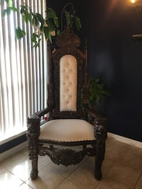 black and white wooden chair Austin, 78754