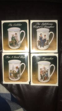 Select Norman Rockwell mugs