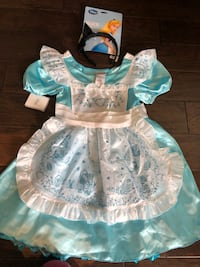 NEW Disney Store Alice in Wonderland costume 9-11  Markham, L6E 0H0