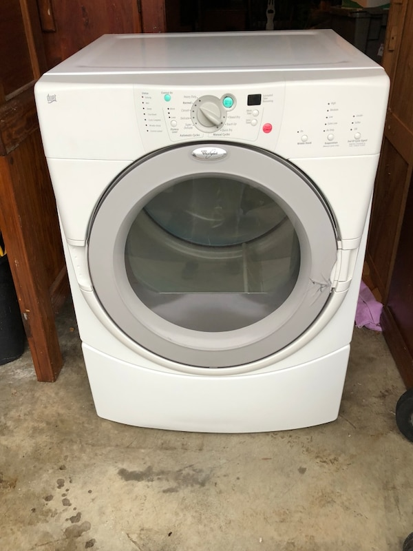 Front load clothes dryer (gas)