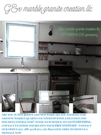 Countertops granite marble kitchen va Elizabeth, 07201