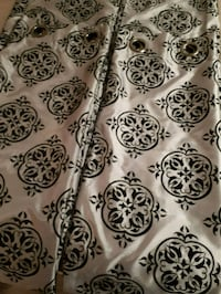 white and black floral textile Sherwood Park