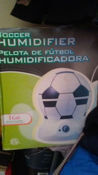 Soccer humidifier white