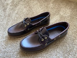 Men's Sperry Boat Shoe Amaretto Leather Size 11
